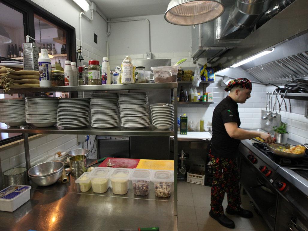 Ristorante Trattoria Casa Mia In Trastevere La Cucina A