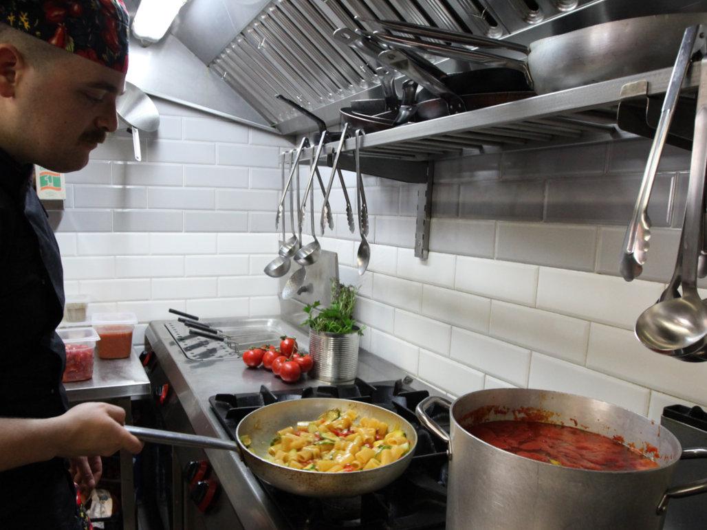 Ristorante Trattoria Casa Mia In Trastevere La Cucina