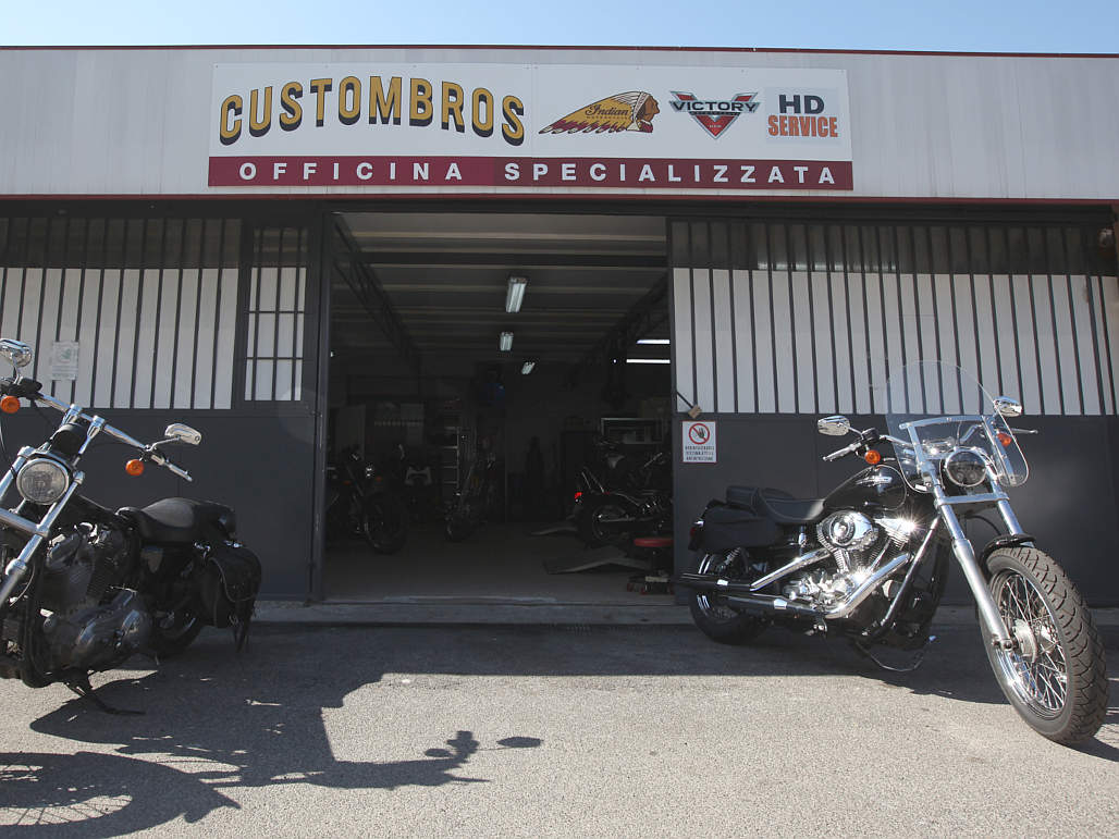 Custom,Bros,Roma,officina,specializzata,moto,Indian,Victory,