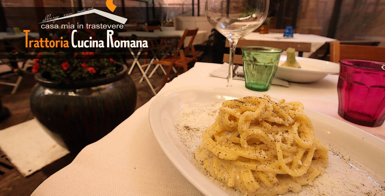 Trattoria Con Cucina Romana A Trastevere Casa Mia In