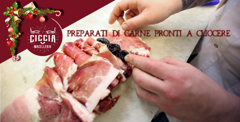 preparati di carne pronti a cuocere