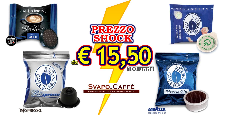 Caffè Borbone in offerta a Roma
