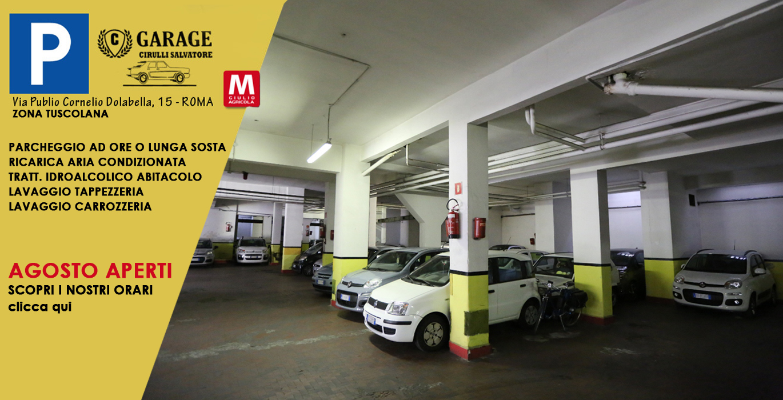 Garage custodito a Roma Tuscolana